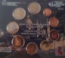 manueduc  ESPAÑA 2013 BLISTER OFICIAL FNMT  WORLD  MONEY Sólo 2.500 BERLÍN