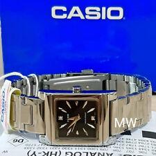 d383b537af62 Casio LTP-1237D-1A2 cuadrado de Moda para Mujeres Damas Cuarzo Analógico  Reloj con Cuadrante Negro