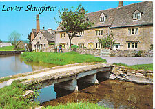 Gloucestershire Postcard - Lower Slaughter - Showing Houses   AB2576