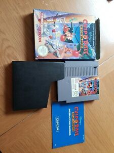 Chip 'n Dale Rescue Rangers NES complete with box, game and instruction manual