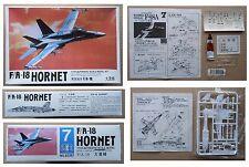 F/A 18 HORNET Jet Fighter NORTHROP F18 model kit modellismo vintage Lee 1/144