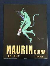 AD Maurin Quina Alcoholic Beverage - Poster Print 16x20 - Original Vintage