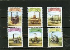 BENIN 1999 Sc#1159-1164 EARLY STEAM LOCOMOTIVES SET OF 6 STAMPS MNH