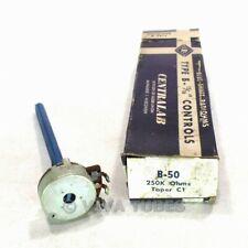 Colvern 50K Ohm Potenziometro Vintage 3 TERMINALE NSN confezionato a metà anni/'50 MBL4-116