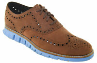 Cole Haan Men's ZeroGrand Wingtip Oxford Coffee Coast Style C29673