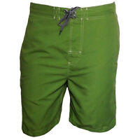 Mens shorts Swimwear Trunk FREE COUNTRY Surf Board Beach Vacation Relax GREEN