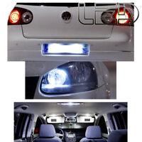 KIT 15 Ampoules LED Blanc Pour GOLF 5 V anti erreur plaque habitacle intérieur