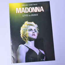 MADONNA Photo-Booklet Live in Japan 1987 Super Rare!!