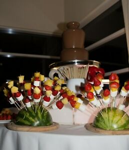 Small Chocolate Fountain with LED Base  For HIRE - North West .