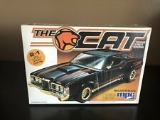"""Vintage 1986 MPC """"The Cat""""Cougar Street Machine 1/25 Scale Model Car Kit 6386"""