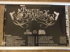 Bullet for my Valentine  30cm X 42cm 2006  small UK  Concert   Poster