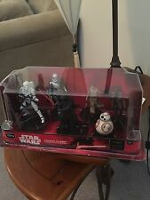 Disney Store ~ Star Wars: The Force Awakens Figurine Play Set Kylo Cake Toppers