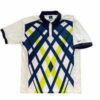 Nike Fit Dry Polo Shirt Men's XL Golf Shirt Short Sleeve