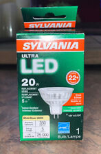 sylvania ultra led 20 w soft white dimmable indoor/outdoor use energy efficient
