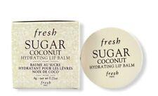 FRESH Coconut Hydrating Lip Balm .21oz/ 6g Coconut Cream Flavour New in Box