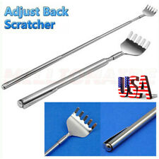 USA Metal Stainless Steel Back Scratcher Telescopic Extendable Claw Extender QW