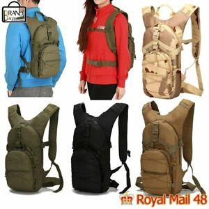 AOKALI 15L Tactical Backpack MilitaryTrekking Hiking Camping Outdoor Sport Bag