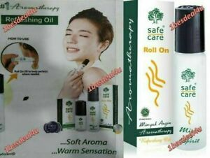 Safecare Roll On Minyak Angin Aromatherapy Refreshing Medicated Oil - 10 Ml