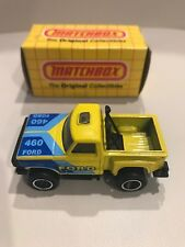 1983 Matchbox MB53 FORD F150 FLARESIDE PICKUP Off-Road 460 Mint In Box