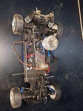 Traxxas Nitro 4 Tec 2.5R Roller W/Engine on board electronics upgrades