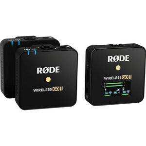 Rode Wireless GO II Dual Channel Compact Digital Wireless Microphone System