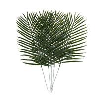 Künstliche Grünpflanzen Dekorative Palm Areca Blätter Hochzeit Party Decor CJ
