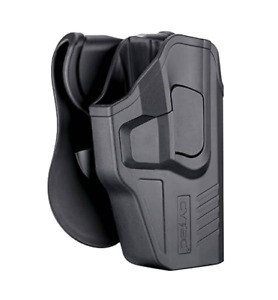 For Glock 17 31 (Gen 3/4/5) Level 2 OWB Paddle Holster w Quick Release Button