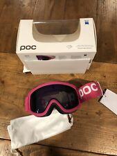 NEW POC Iris X Ski Snow Goggle Purple Mirror Lens Pink