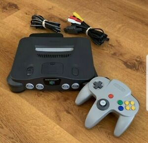 Complete Nintendo 64 Console Tested And Working
