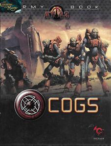 AT43 - Livre d'Armée / Army Book Cogs VF *Rackham* |MINIATURES|