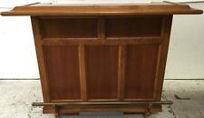 Custom Bench Made Traditional Bar, Locking Cabinet Lot 2373