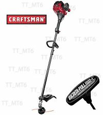 Craftsman 25cc Weedwacker 2 Cycle Straight Shaft Gas Weedeater Trimmer