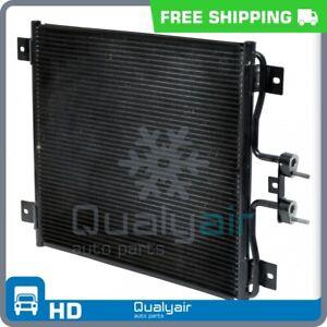 AC Condenser fits Ford F650, F750 / International 4100, 4200, 4200LP, 4300... QR
