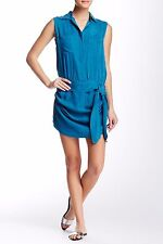 $198 NWT Young Fabulous & Broke Marion Romper in Mood Blue Sz M