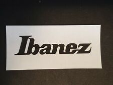 Ibanez Headstock Logo Decal (Small) - Pick Your Color