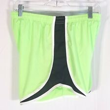Epic MMA Gear Athletic Workout Shorts Women Size XL Lined Neon Green UFC Fight