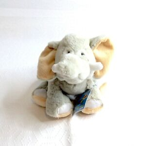 "GANZ Webkinz SOFT VELVETY ELEPHANT 7"" Plush Stuffed Animal Toy NEW"