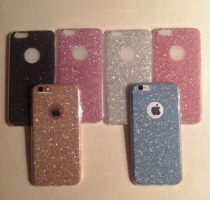 Glitter Sparkly Back Fits Iphone Soft Bling Shockproof Silicone Case Cover 1a