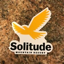 Solitude Ski Sticker - Skiing Snowboarding Utah Mountain Sports Burton Powder