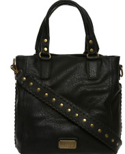 New Hayden Harnett Sienna Satchel Bag Black Handbag RRP$115