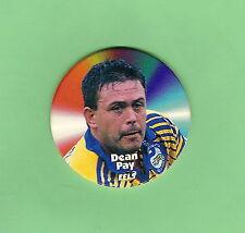 1997 RUGBY LEAGUE TAZO  #30 DEAN PAY, PARRAMATTA EELS