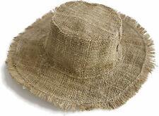 Hemp Summer Hat, Wide brim Beach Panama Hat , Natural hippie hat, XXL