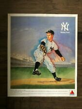 "New York Yankees Hof'er Whitey Ford 1989 Citgo Color Lithograph 10 1/2""x12 1/2"""