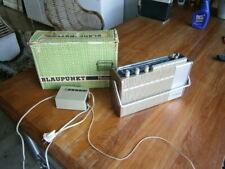 Blaupunkt Riviera Omnimat portable trunk table radio, original box
