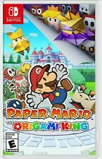 Paper Mario: The Origami King -- Standard Edition (Nintendo Switch, 2020) NEW