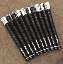 Golf Pride Tour Wrap 2G Black Midsize 60R Grips *Genuine* 10 Pcs