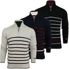 Gestreifte Herren-Pullover & -Strickware mit regular Länge aus Baumwolle