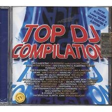 Top Dj Compilation - GIGI D'AGOSTINO MARIO PIU' MAURO PICOTTO CD 2001 SIGILLATO