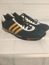 Adidas Vintage Vtg Goodyear Racing Shoes Green Yellow Mens US 13 RARE