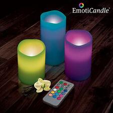 Velas decorativas sets multicolor para el hogar